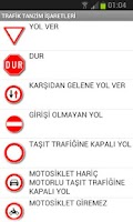 Screenshot of Trafik İşaret ve Levhaları