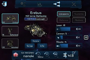 Screenshot of War Space: Free Strategy Game