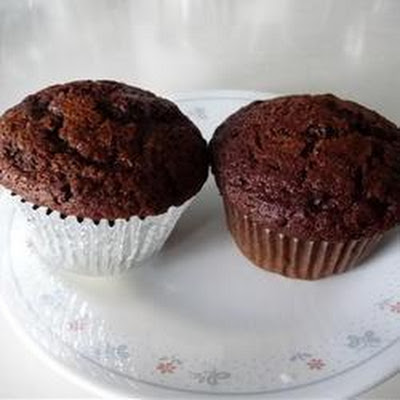 Chocolate Cupcakes with Caramel Icing