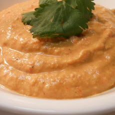 Low Fat Red Pepper Hummus