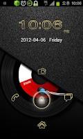 Screenshot of B.Gold GO Locker Theme
