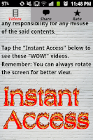 Screenshot of Must See Free Videos Downloads