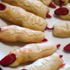 Severed Fingers Halloween Cookies