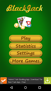 BlackJack Game - screenshot