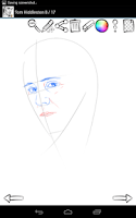 Screenshot of How to Draw: Celebrities