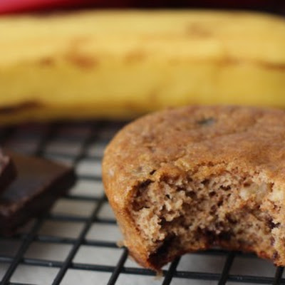 Banana Nut Chocolate Chip Muffins