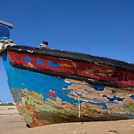 Old Boat by Khaled Ibrahim - Transportation Boats