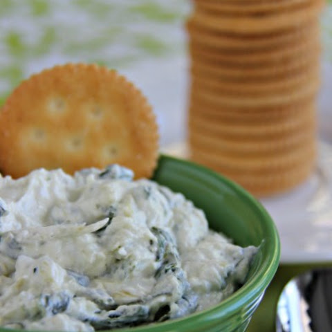 Cold Spinach and Artichoke Dip