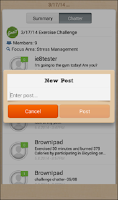 Screenshot of Well-Being Connect Mobile