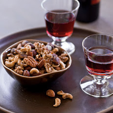 Maple-Bacon Spiced Nuts