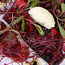 Marinated Mackerel With Beetroot And Hazelnuts