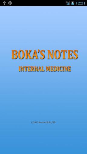 Boka's Notes Internal Medicine