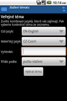 Screenshot of Slovíčka