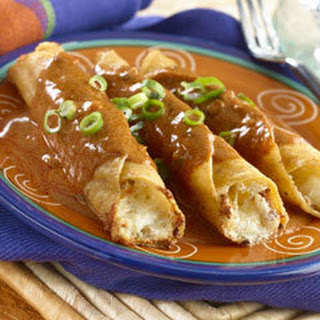 Spicy Potato Flautas