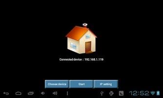 Screenshot of MK802II Remote Client