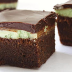Chocolate-Mint Brownie Cake