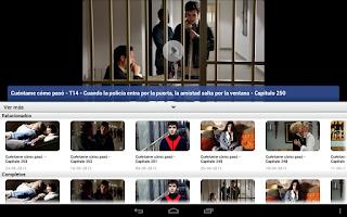 Screenshot of Cuéntame Cómo Pasó en RTVE.es