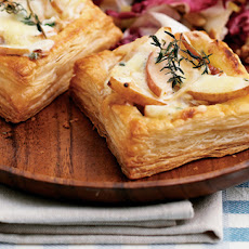 Individual Pear And Blue Cheese Squares Recipe