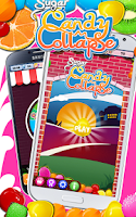 Screenshot of Sugar Candy Collapse
