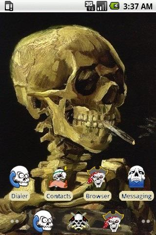 Smoking Skull [SQTheme] ADW
