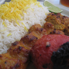 Persian Chicken Kabobs