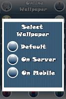 Screenshot of Online Wallpaper