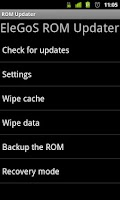 Screenshot of ROM Updater