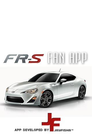 Scion FR-S Fan App