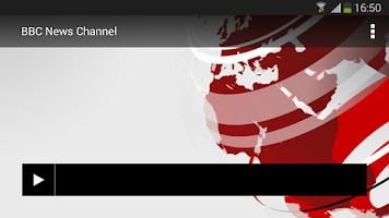Screenshot of BBC Media Player