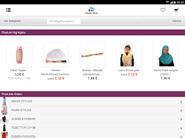 Screenshot of Muslim Shop