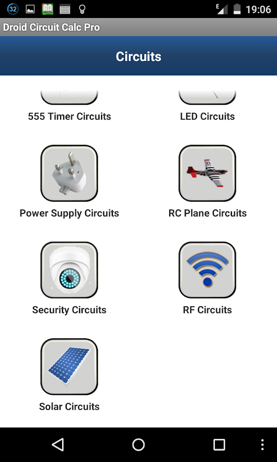Droid Circuit Calc Pro Screenshot 6