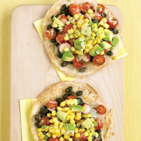 Guacamole With Charred Corn, Black Beans, And Scallions Recipes ...