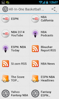 Screenshot of Basketball News and Scores