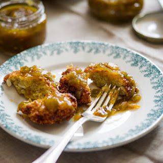 Crispy Quinoa Fritters with Green Tomato Chutney