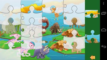 Screenshot of Kids Jigsaw Puzzle Lite