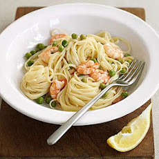 Pea, Prawn & Lemon Linguine
