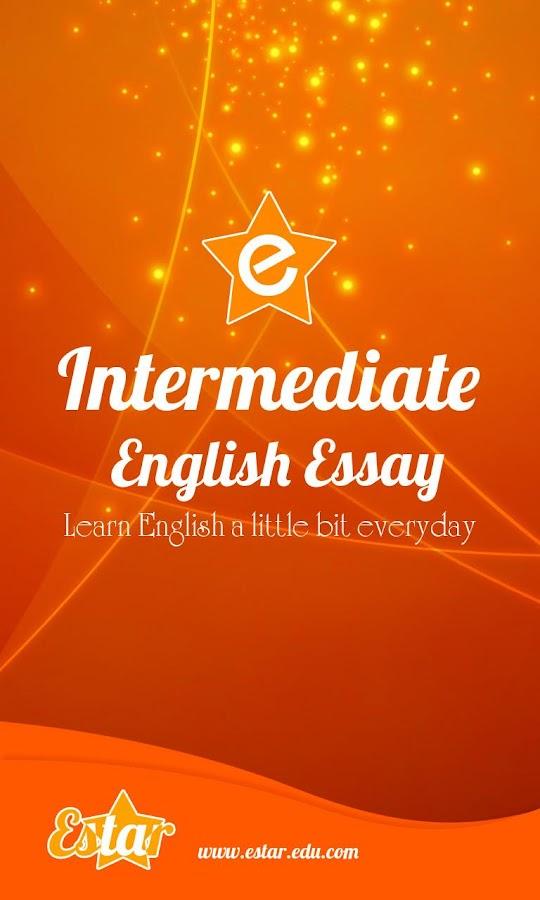 Writing essay english language