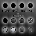 Executive Clock Set Widget icon