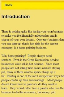 Home Paiting Guide Business - screenshot