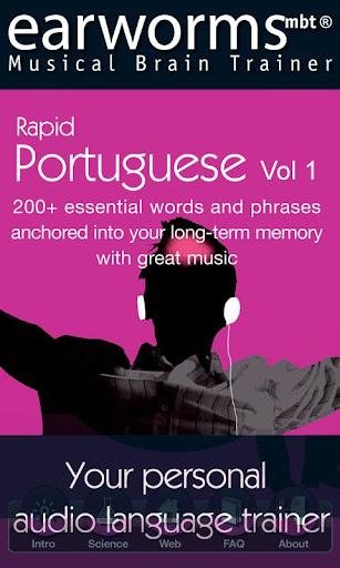 Earworms Rapid Portuguese Vol1