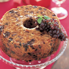 Dried Cherry-Almond Fruitcake