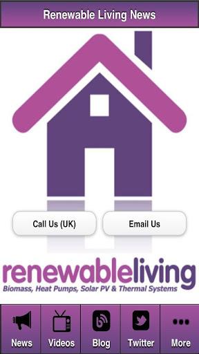 Renewable Living - Energy News
