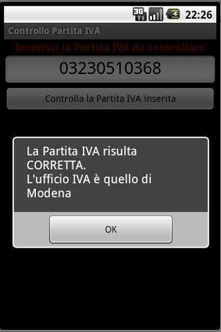Controllo Partita IVA