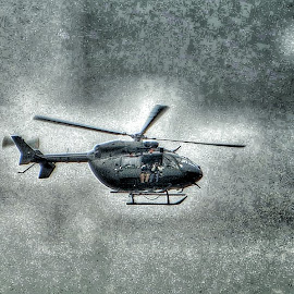 Getting The Shot by Diane Merz - Transportation Helicopters