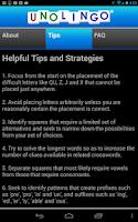 Screenshot of Unolingo: No Clue Crosswords