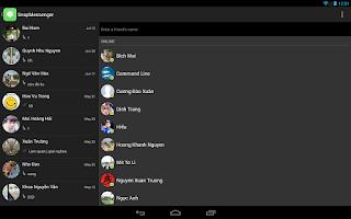 Screenshot of SnapMessenger for Facebook