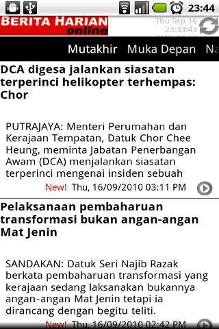 Berita Harian - Malaysia