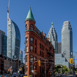 Everything getting bigger around you by Jack Brittain - Buildings & Architecture Office Buildings & Hotels ( building, canada, toronto, street, ontario, architecture )