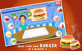Screenshot of Burger Sandwich Dash - Service