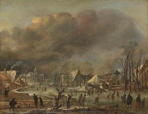 RIJKS: Aert van der Neer: painting 1677